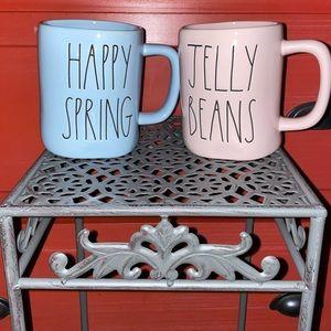 Rae Dunn Spring Easter Mugs Set of 2